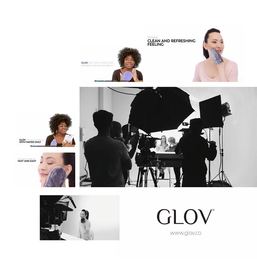 Spot reklamowy marki GLOV